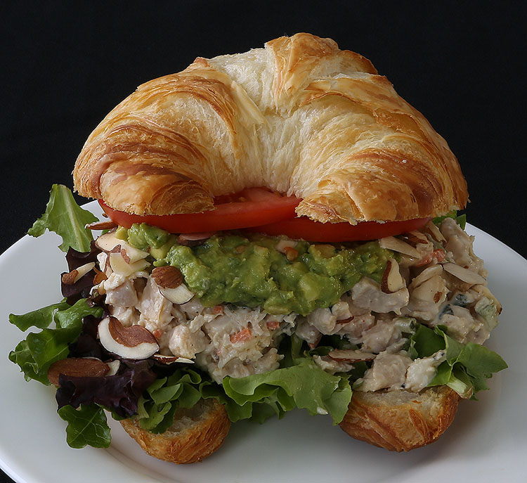 Chicken Salad Croissant from ClusterTruck.com in Indianapolis, Indiana.
